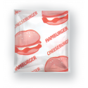 Packaging for hamburgers 50 pieces